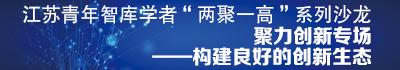 """江苏青年智库学者""""两聚一高""""系列沙龙聚力创新专场"""
